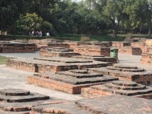 Remains of Stupas and Viharas